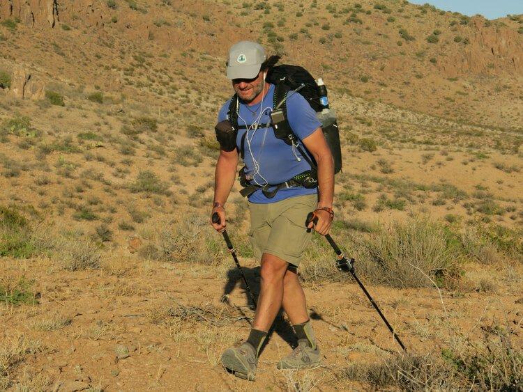 Best Lightweight Hiking Shoes gear test in the desert