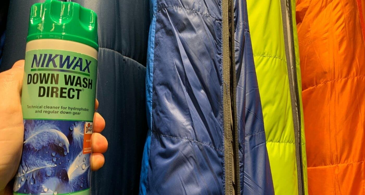 How to wash a down sleeping bag