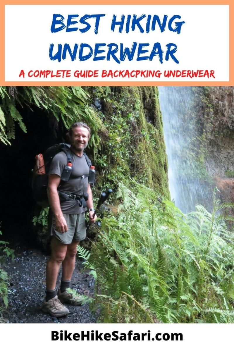 Best hiking underwear for backpacking